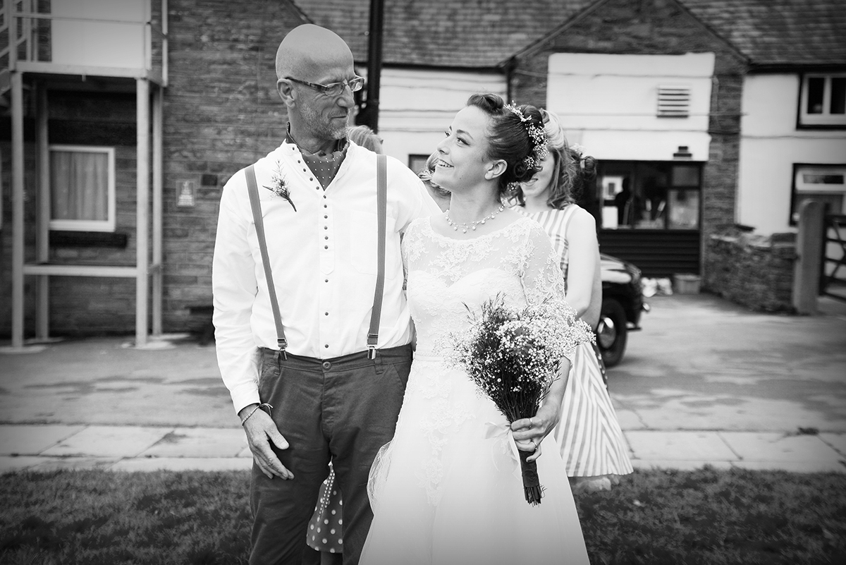 Festival Wedding, Quirky Wedding, alternative weddings, father of the bride